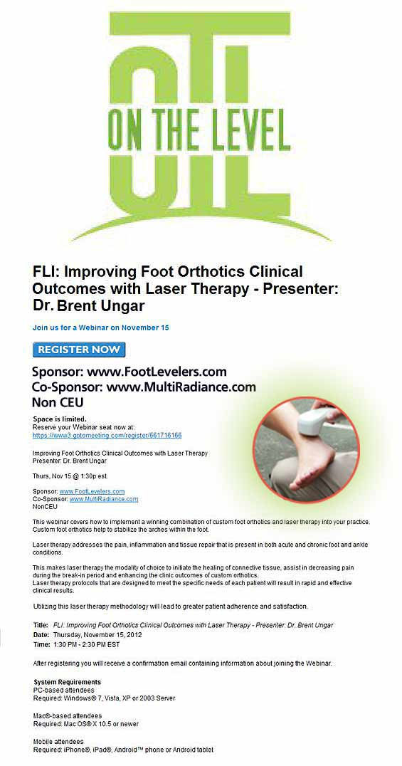 Improving Foot Orthotics