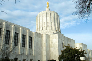 oregon state capital - Copyright – Stock Photo / Register Mark